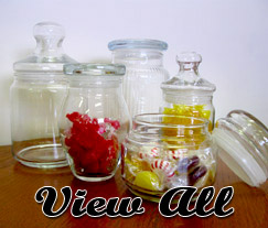View All Glass Storage Candy Jars